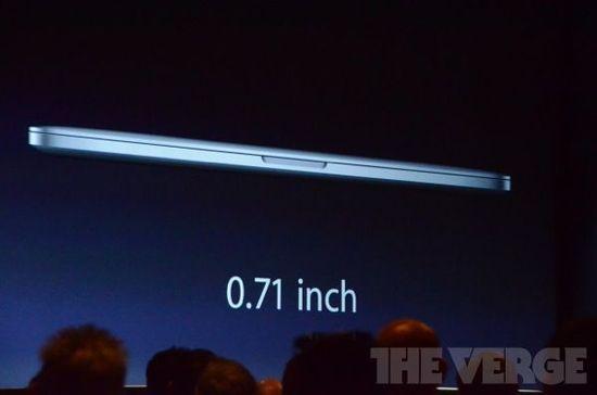 苹果发布新MacBook Pro 采用2880×1800视网膜屏